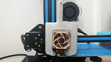 Image of Tevo Tornado Upgrades and Mods: V6 Hot End Mount