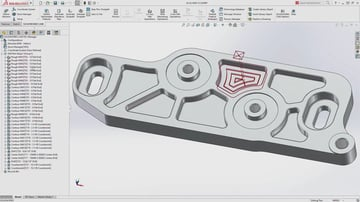 Image of Best CAM Software for SolidWorks, AutoCAD & Co.: SolidWorks CAM
