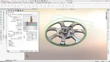 Image of Best CAM Software for SolidWorks, AutoCAD & Co.: CAMWorks