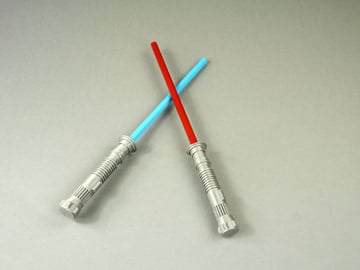 Image of Star Wars 3D Models to 3D Print: Lightsaber Pencil Top