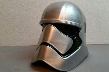 Image of Star Wars 3D Models to 3D Print: Captain Phasma Helmet