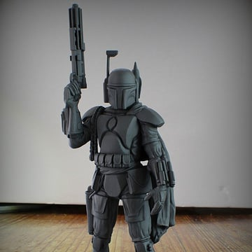 Image of Star Wars 3D Models to 3D Print: Boba Fett Statue