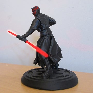 Image of Star Wars 3D Models to 3D Print: Darth Maul Statue