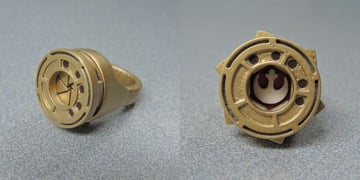 Image of Star Wars 3D Models to 3D Print: Rebel Alliance Ring