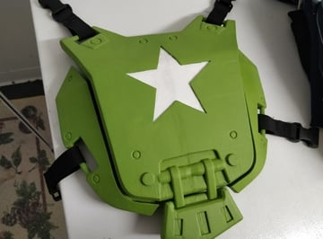 Image of Fallout Props & Toys to 3D Print: Fallout Combat Armour