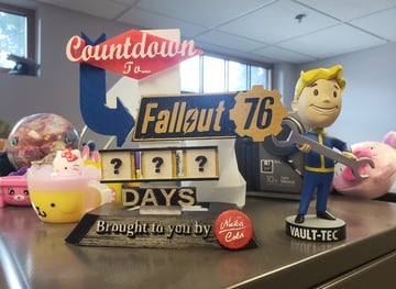 Image of Fallout Props & Toys to 3D Print: Fallout 76 Countdown Sign