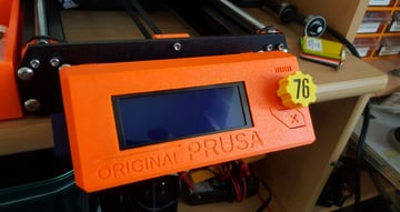 Image of Fallout Props & Toys to 3D Print: Fallout 76 Prusa MK3 Display LCD Knob