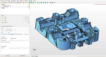 Imagem de Software para impressora 3D: editar e reparar arquivos STL: Netfabb