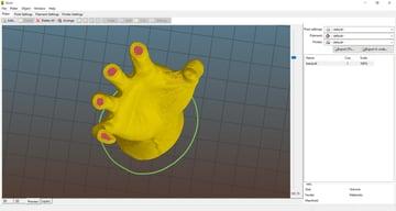 Imagem de Software para impressora 3D: fatiamento e gerenciamento da impressora 3D: Slic3r