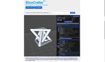 Imagem de Software para impressora 3D: fatiamento e gerenciamento da impressora 3D: SliceCrafter