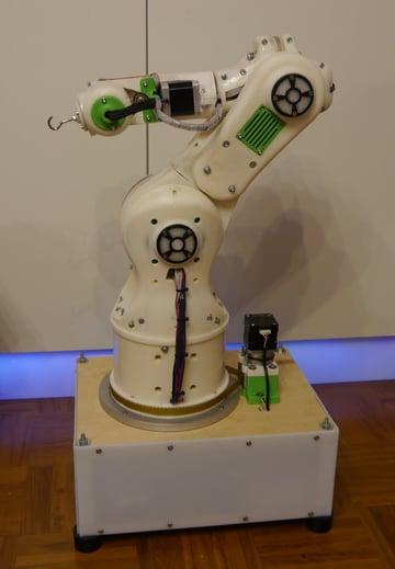 Image of: 6. 3D Printable Robot Arm