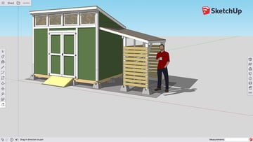Image of Best Free CAD Software (2D/3D CAD Programs): SketchUp Free