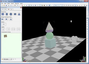 Image of Best Free CAD Software (2D/3D CAD Programs): 3D Crafter