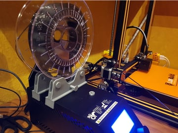 Image of Best Creality CR-10/S/V2/Mini Upgrades & Mods: Bearing Spool Holder