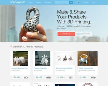 Shapeways site