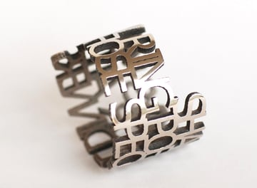A 3D printed stainless steel