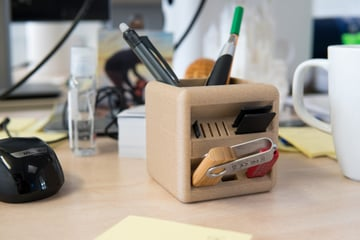 Image de Objets 3D utiles à imprimer en 3D: The Little Box : le pot à crayon