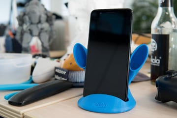 Imagem de Coisas para imprimir em 3D: Amplificador de som Groovi Monster