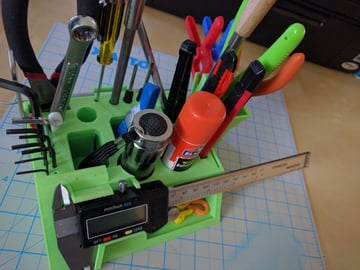 Image of: 3D Printed Tool #10: 3D Printer Tool Stand