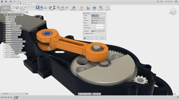 Fusion 360 interface