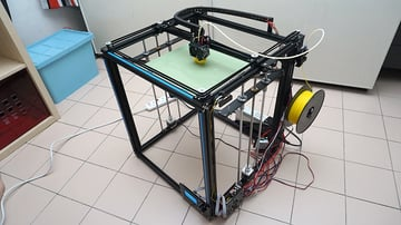 A Tronxy X5S CoreXY 3D Printer