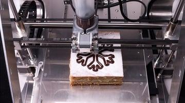 Imagen de la impresora de alimentos 3D - Guía del comprador: Extrusora de pasta gruesa ZMorph VX +