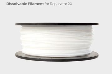 Makerbot's dissolvable filament