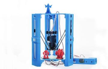 Comes already pre-assembled: 101Hero 3D printer