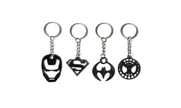 Image de Objets 3D utiles à imprimer en 3D: Porte-clés Super-Héros
