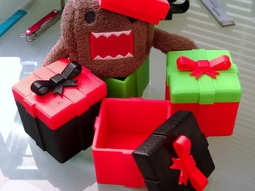 Image of: #7: Christmas Gift Box