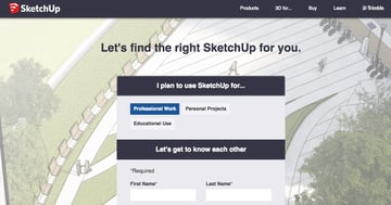 Imagem de Baixar SketchUp gratuito: versão gratuita de teste: Versão completa