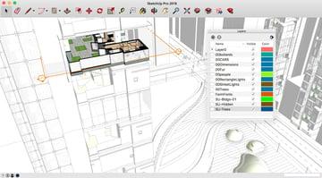 Imagem de Baixar SketchUp gratuito: versão gratuita: Recursos disponíveis