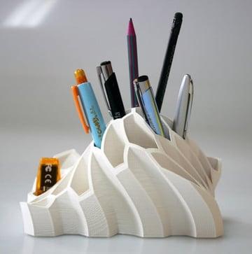Imagem de Coisas para imprimir em 3D: Porta-lápis e canetas