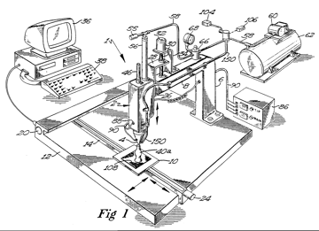Figure 1 from Crump's Patent.