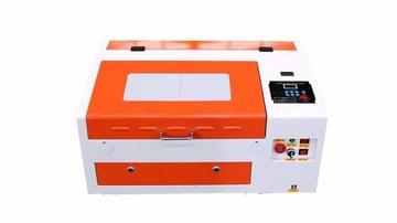 Imagem de Guia das máquinas de gravação a laser: Máquina de gravação a laser TEN-HIGH 40 W