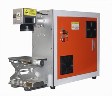Image of Best Laser Marking Machines: TEN-HIGH Portable Fiber Laser Marking Machine