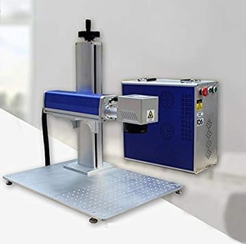Image of Best Laser Marking Machines: MCWlaser 20W Portable Desktop Fiber Laser Marker