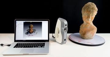 Image of Artec Eva 3D Scanner: Review the Specs: Features