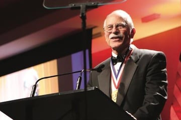 Chuck Hull is inducted into the National Inventors Hall of Fame.