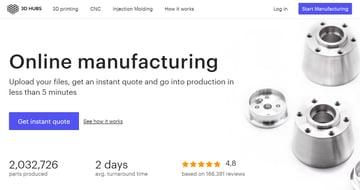 Imagen de Servicio de impresión 3D online: 3D Hubs