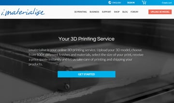 Imagen de Servicio de impresión 3D online: i.materialise