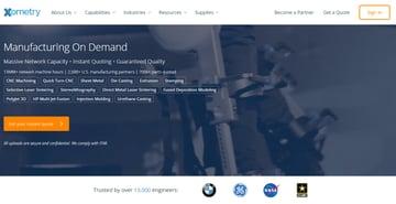 Image of Online-3D-Druck-Service-Dienstleister: Xometry