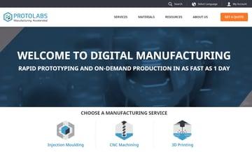 Imagen de Servicio de impresión 3D online: Protolabs