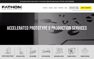 Image of Online-3D-Druck-Service-Dienstleister: Fathom