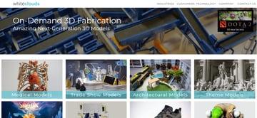 Imagen de Servicio de impresión 3D online: WhiteClouds