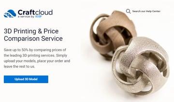 Imagen de Servicio de impresión 3D: Craftcloud