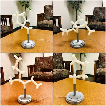 Image of [Project] 3D Printed Modular Molecule Lamp: What You Need & How to Build it