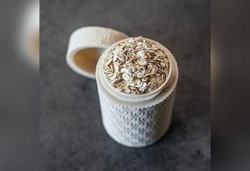 Image de Objets 3D utiles à imprimer en 3D: Pot cylindrique à motif