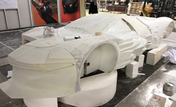 The David Bowie 3D Printed Tribute Concept Car