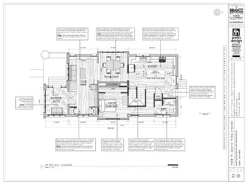 An example of a detailed plan created in SketchUp Pro